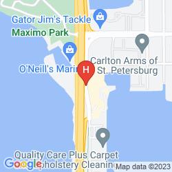 Mappa MAGNUSON HOTEL MARINA COVE
