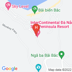 Mappa INTERCONTINENTAL DANANG SUN PENINSULA RESORT