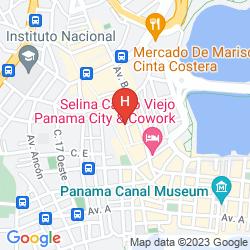 Mappa TRUMP OCEAN CLUB PANAMA