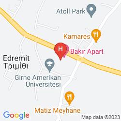 Mappa THE HIDEAWAY CLUB HOTEL