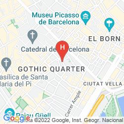 Mappa MERCER HOTEL BARCELONA