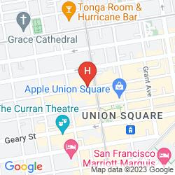 Mappa THE CARTWRIGHT HOTEL - UNION SQUARE, BW PREMIER COLLECTION
