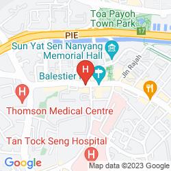 Mappa IBIS SINGAPORE NOVENA HOTEL