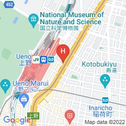 Mappa SUTTON PLACE UENO