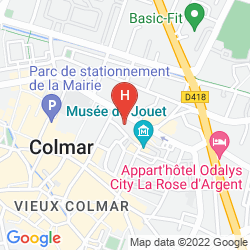 Mappa IBIS COLMAR CENTRE