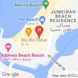 Mappa DELTA HOTELS BY MARRIOTT JUMEIRAH BEACH, DUBAI