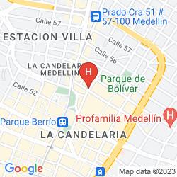Mappa EUPACLA HOTEL