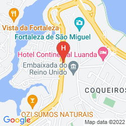Mappa BAIA HOTEL