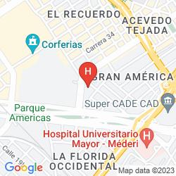 Mappa CASA HOTEL ZUETANA 119