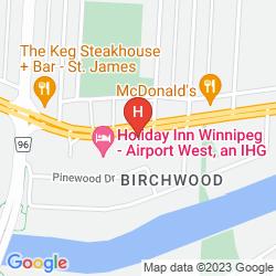 Mappa HOLIDAY INN WINNIPEG-AIRPORT WEST