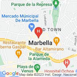 Mappa HOSTAL ENRIQUETA