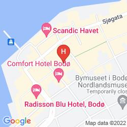 Mappa CLARION COLLECTION HOTEL GRAND BODO