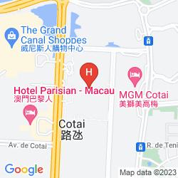 Mappa HOLIDAY INN COTAI CENTRAL