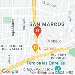 Mappa PEQUEÑO GRAN HOTEL