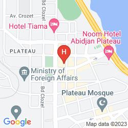 Mappa APPART HOTEL IVOTEL