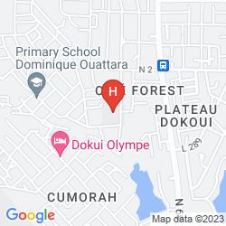 Mappa GOLF HOTEL