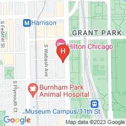 Mappa HOTEL ESSEX CHICAGO