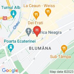 Mappa GOTT HOTEL