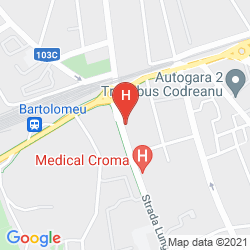 Mappa PENSIUNEA LUIZA