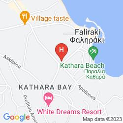 Mappa GONDOLA HOTEL