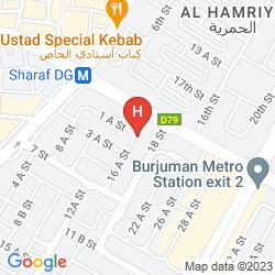 Mappa FORTUNE HOTEL APARTMENTS, BUR DUBAI
