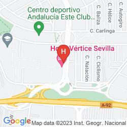 Mappa VERTICE SEVILLA