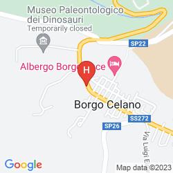 Mappa VILLA SAN PIO