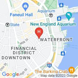 Mappa HILTON BOSTON DOWNTOWN/FANEUIL HALL
