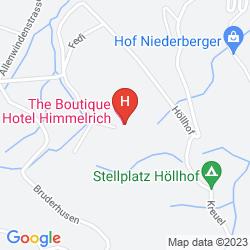 Mappa HIMMELRICH KRIENS HOTEL
