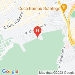 Mappa RIO NATURE HOSTEL