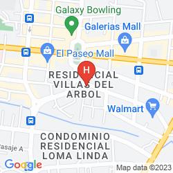 Mappa MORRISON HOTEL DE LA ESCALON