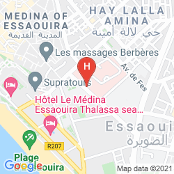 Mappa BAHJA DE MOGADOR