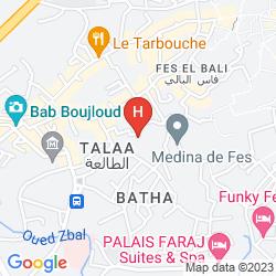 Mappa LE JARDIN DES BIEHN