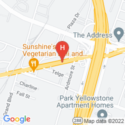 Mappa MAINSTAY SUITES TEXAS MEDICAL CENTER/RELIANT PARK