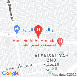 Mappa CORAL PLAZA AL AHSA