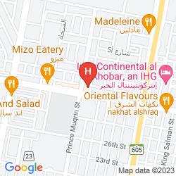 Mappa GOLDEN ROSE AL KHOBAR