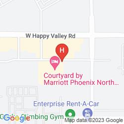 Mappa RESIDENCE INN PHOENIX NORTH/HAPPY VALLEY