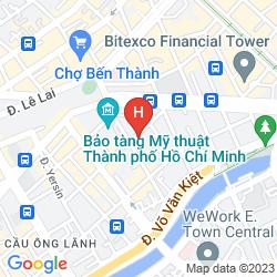 Mappa RUBY RIVER HOTEL