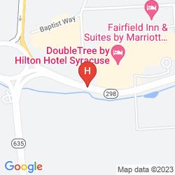 Mappa DOUBLETREE BY HILTON HOTEL SYRACUSE