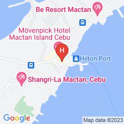 Mappa MOVENPICK HOTEL MACTAN ISLAND CEBU