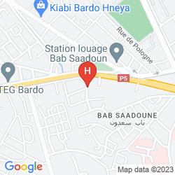 Mappa HAMMAMET SERAIL