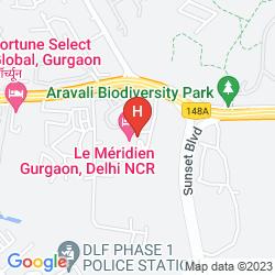 Mappa LE MERIDIEN GURGAON, DELHI NCR