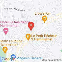 Mappa HOTEL HAMILTON
