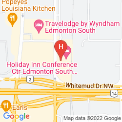 Mappa HOLIDAY INN CONFERENCE CTR EDMONTON SOUTH
