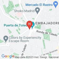 Mappa PUERTA DE TOLEDO