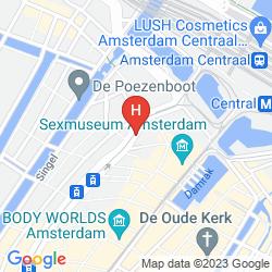 Mappa KIMPTON DE WITT AMSTERDAM