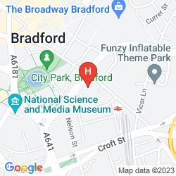Mappa THE BRADFORD