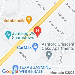 Mappa RAMADA LIMITED - HOUSTON SOUTH