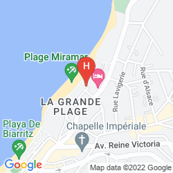 Mappa SOFITEL BIARRITZ LE MIRAMAR THALASSA SEA & SPA