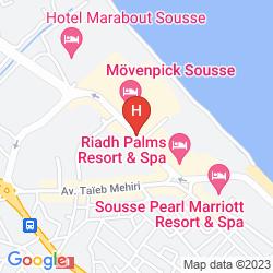 Mappa EL HANA PALACE CARUSO